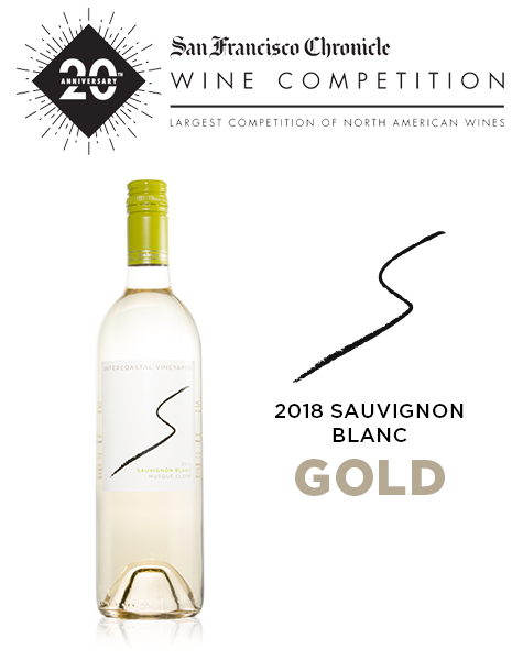 2018 Intercoastal Sauvignon Blanc gets Gold at SF Chronicle Wine Competition