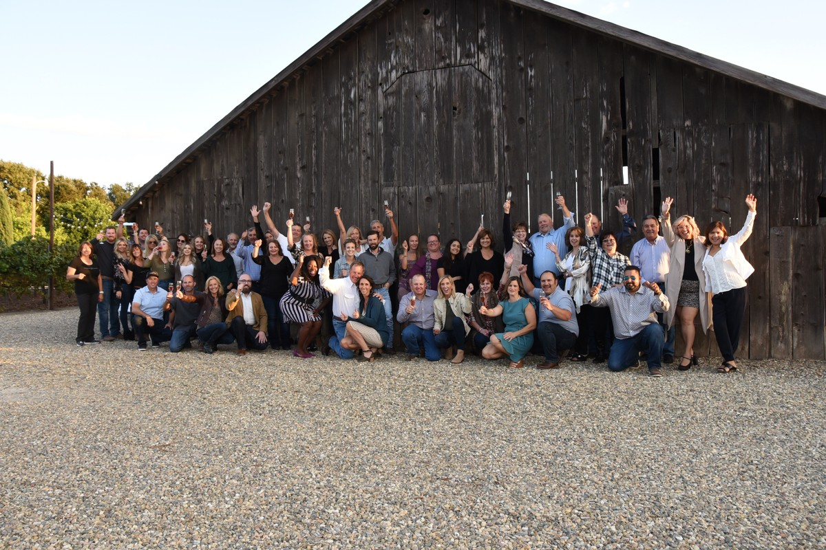 Guests of the 2019 Pinot and Polenta Winemaker's Dinner